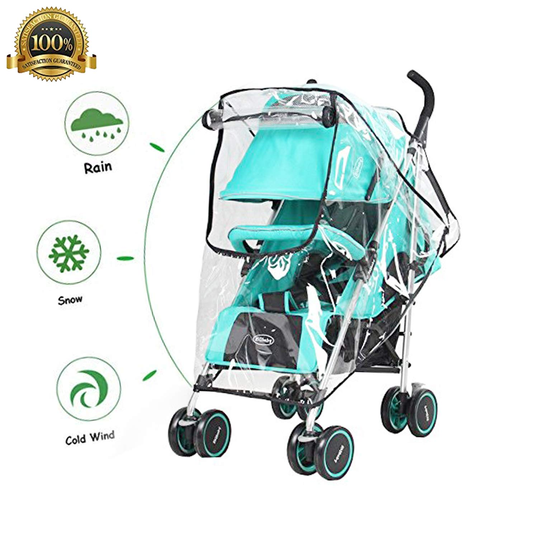 Large Size EVA Rain Cover For Most Buggy Pushchair Stroller Pram Child Baby Car