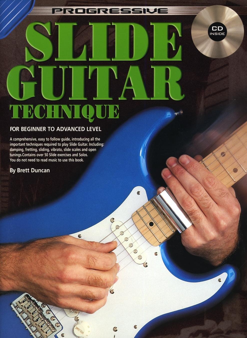 Progressive: Slide Guitar Book/CD . Partituras, CD para Guitarra ...
