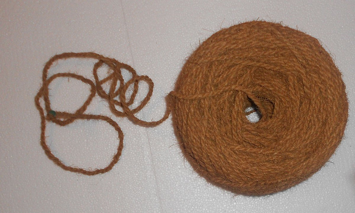 HAPPY HOUSE Garden Twine Made Of Coconut Fiber