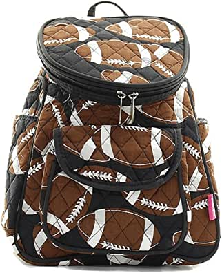 Amazon.com: Handbag Inc Small Quilted Football Mini