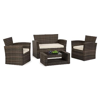 Amazon.com: DASEY - Juego de muebles de jardín de 5 piezas ...