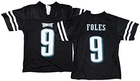 d728fc31d11 Image Unavailable. Image not available for. Color: Outerstuff Nick Foles  Philadelphia Eagles Black Youth ...