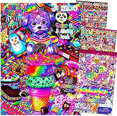 - Amazon.com: Lisa Frank Coloring And Activity Book With Over 600 Lisa Frank  Stickers: Toys & Games