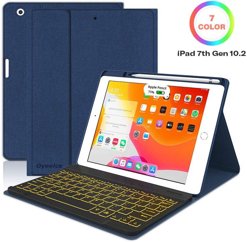 Funda con teclado para iPad 7ta generacion 2019-M7PP