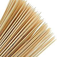 YOTINO 100Pcs Palos de Bambú Desechables Palillos