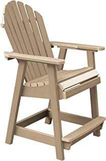 product image for highwood AD-CHCA2-TAU Hamilton Counter Height Deck Chair, Tuscan Taupe