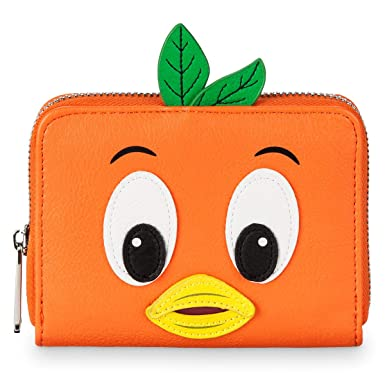 c1b1cfbc969 Image Unavailable. Image not available for. Color  Disney Orange Bird  Wallet by Loungefly