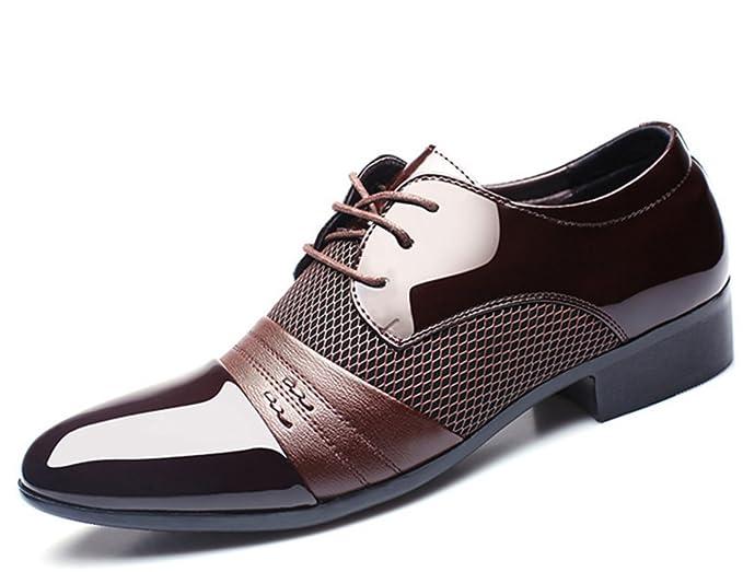 CHENSH Zapatos De Los Hombres De Negocios Casuales Zapatos De Vestido De Boda Oficina De La