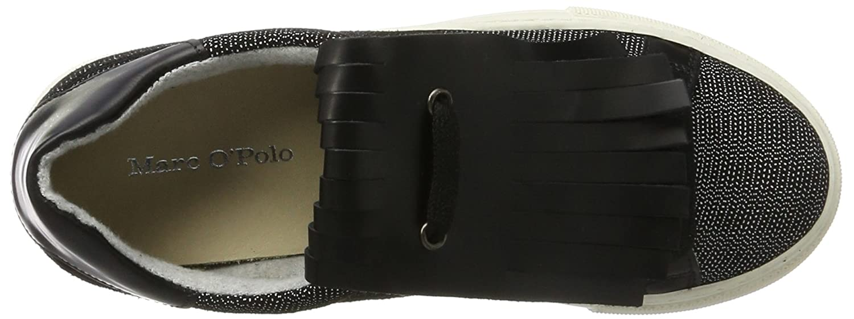 Marc O'Polo Damen Sneaker (schwarz 70714193501310 Schwarz (schwarz Sneaker Combi) 24026c