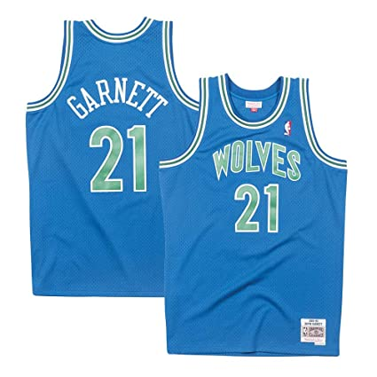 Mitchell   Ness Minnesota Timberwolves Kevin Garnett 95-96 Road Swingman  Jersey (Small) 99e0c4b42