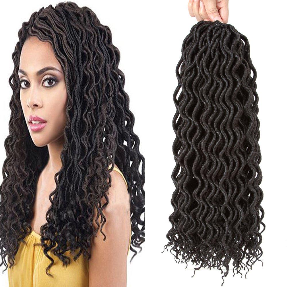 Amazon Befunny 16 6packslot Goddess Curly Faux Locs Crochet