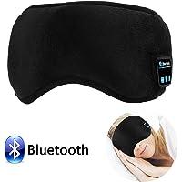 Bluetooth Sleep Eye Mask with Wireless Headphones, LC-dolida Sleeping Eye Shades Headphone Handsfree Music Headset Earpiece Washable for Traveling