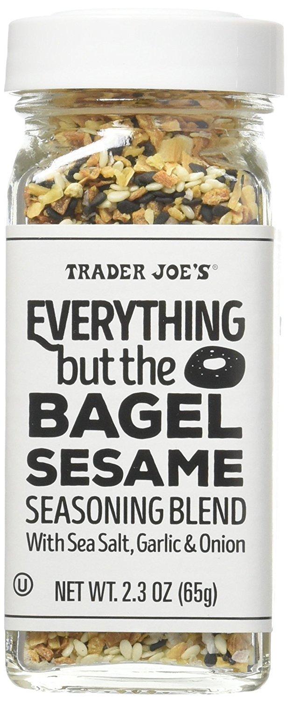Trader Joe's Everything but The Bagel Sesame Seasoning Blend 2.3 oz, Pack of 2, Set of 4