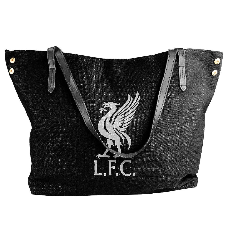 Mashe YY Custom Liverpool Premier League Womens Canvas Shoulder Bag Handbag