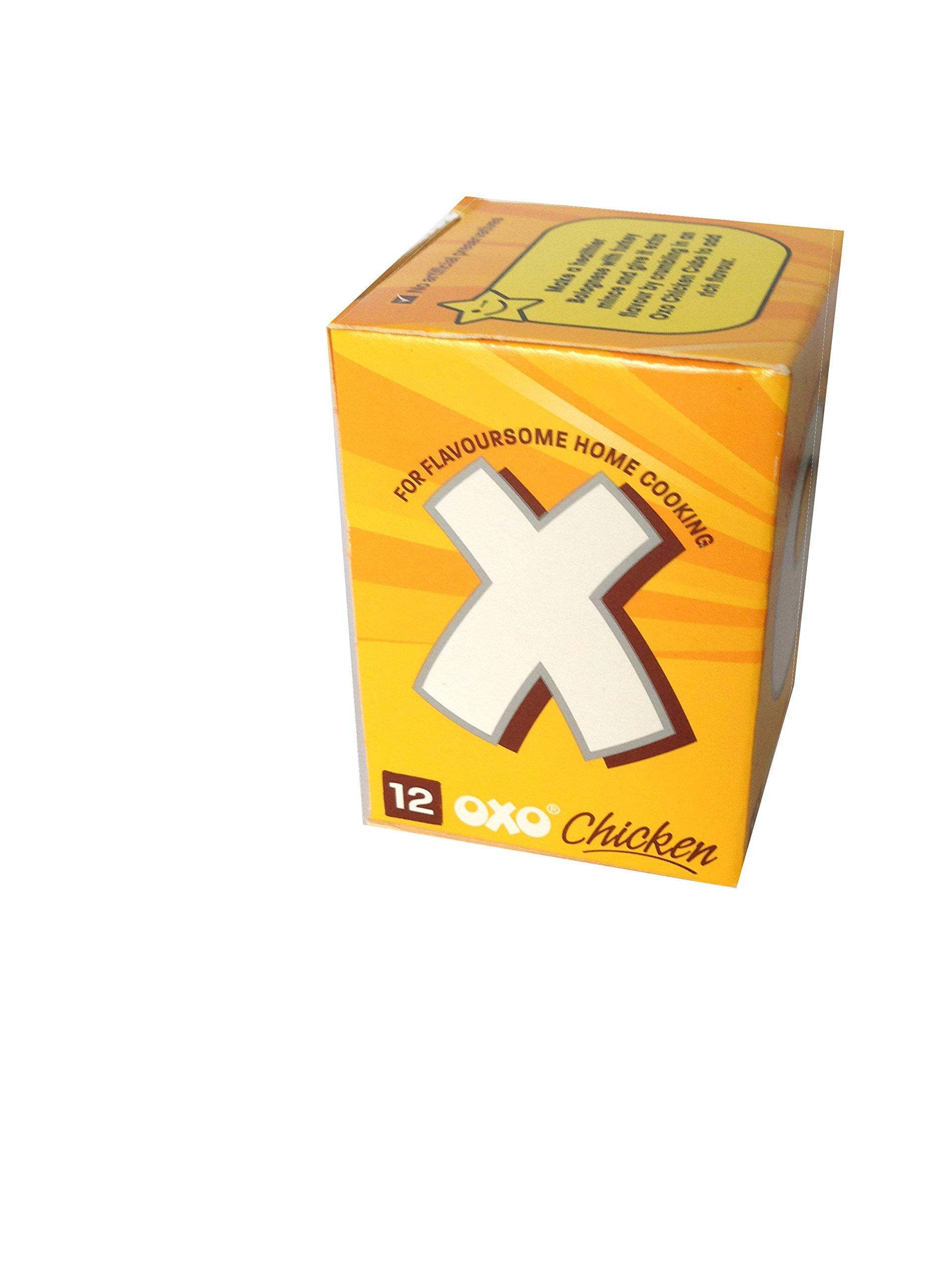 Oxo Chicken Stock Cubes x 12 71g