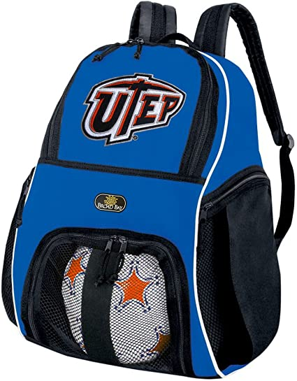 Broad Bay UTEP Miners Backpack UTEP Bag w//Laptop Section
