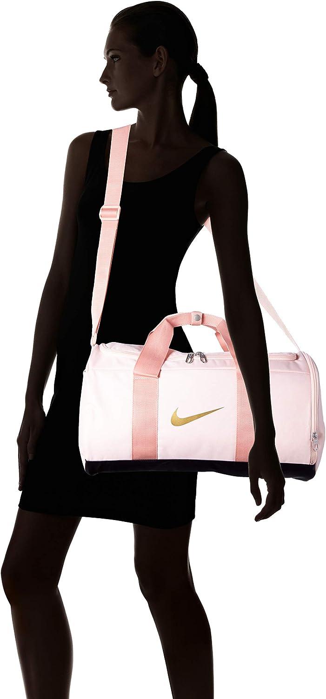 Nike Team Sac de Sport pour Femme Echo Pink//Oil Grey//Metallic Gold Taille Unique