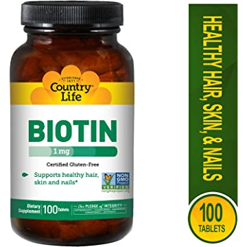 best selling Country Life Biotin 1000 mcg -100 Tablets