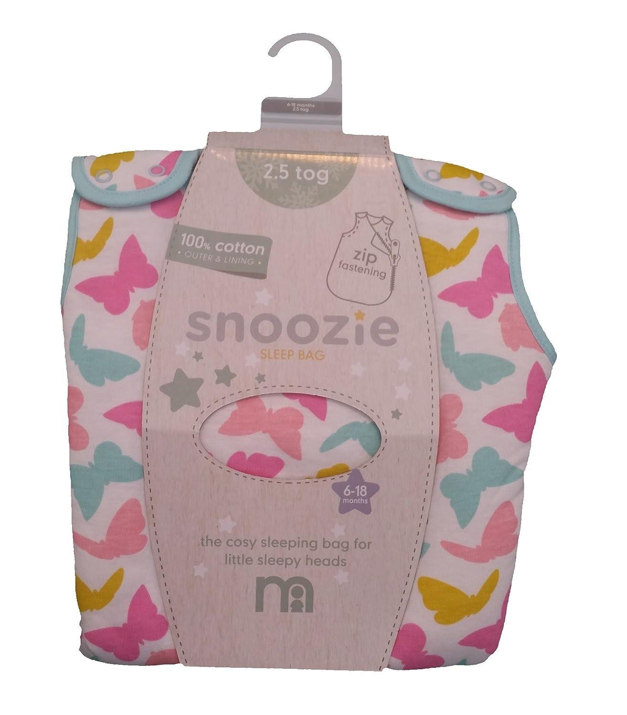 Mothercare mariposa 18 - 36 meses 2.5 Tog bolsa de dormir: Amazon.es: Bebé