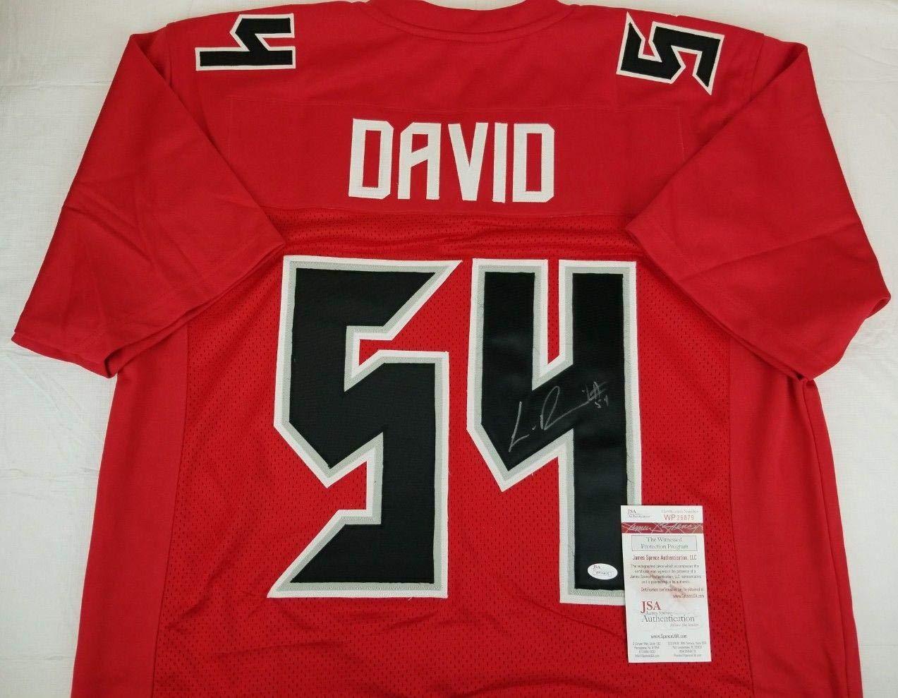best service fb229 a5c4e Lavonte David Autographed Jersey - Witness COA #WP26879 ...