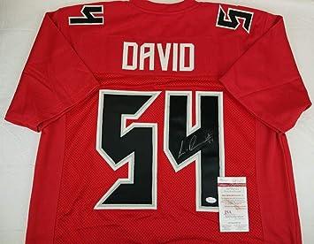 0d75f7e83 Lavonte David Autographed Jersey - Witness COA  WP26879 - JSA Certified - Autographed  NFL Jerseys