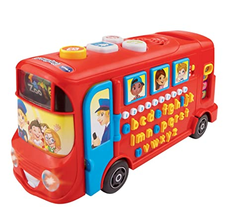 VTech Baby 150003 Playtime Bus with Phonics - Red
