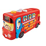 VTech Baby Playtime Bus with Phonics - Red