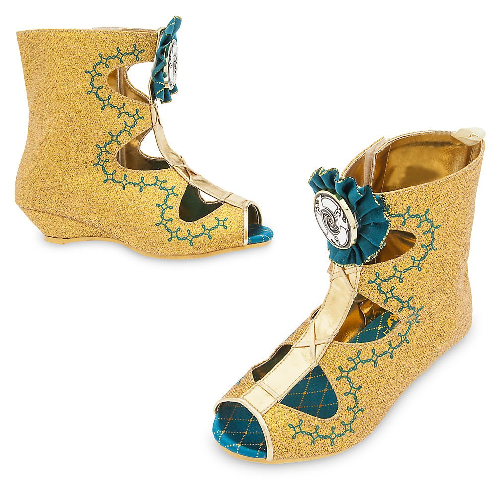 Disney Merida Costume Shoes for Kids Size 2/3 YOUTH