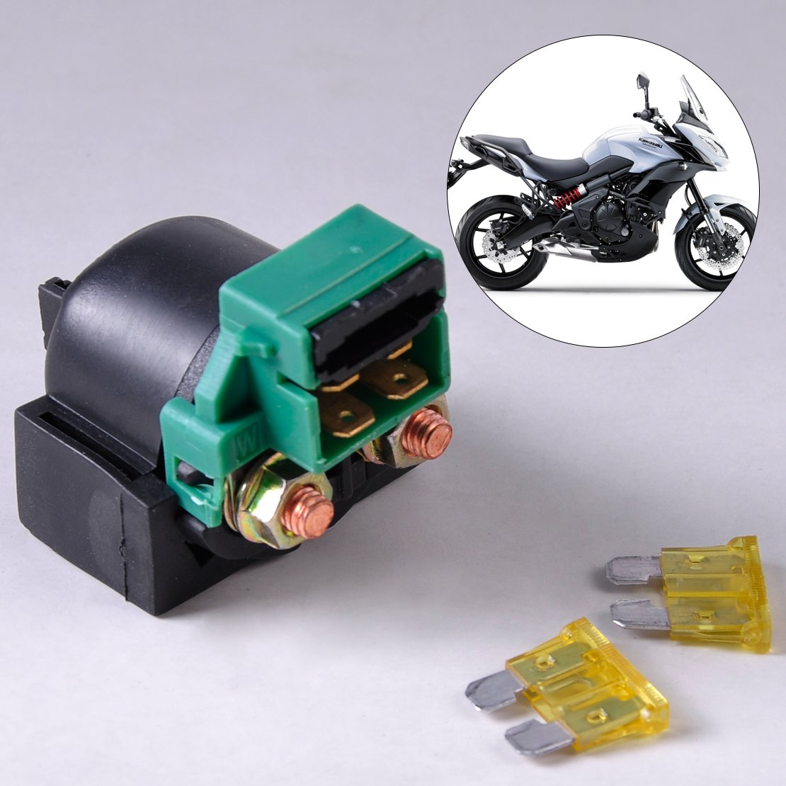 Amazon.com: CALAP-STORE - 12V DC Motorcycle Starter Relay ...