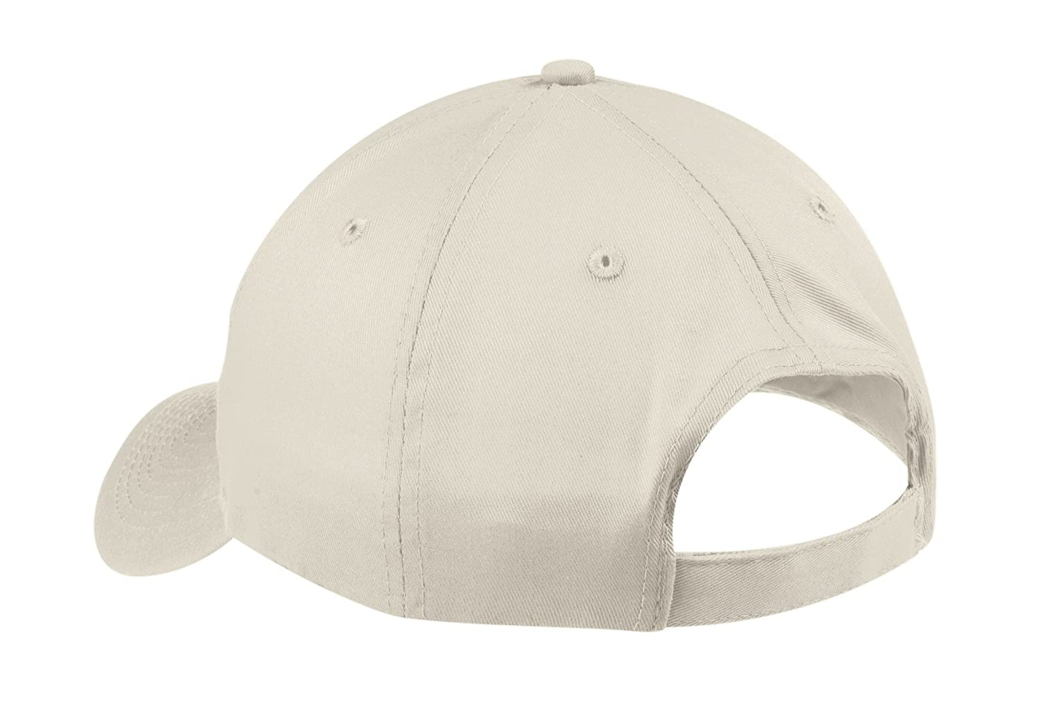 6d99517036d Port   Company Unisex-adult Six-Panel Twill Cap CP80 -Oyster OSFA at Amazon  Men s Clothing store