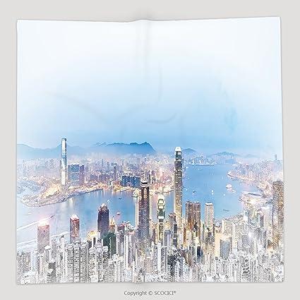 Custom Asia negocio concepto moderno panorámica ciudad ...