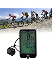 All New XpressBuyer® Multi-Function Large Screen LCD Wireless Bicycle Computers Cycling Computer Bike Digital Stopwatch Speedometer Odometer Bike Cyclometers.