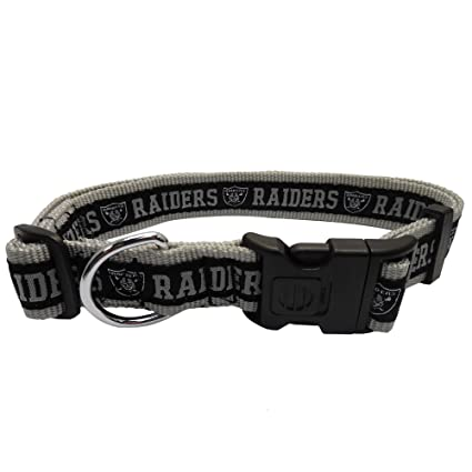 8251a8606f2 Amazon.com   Pets First NFL Oakland Raiders Dog Collar