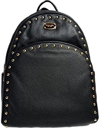 16fc177de2c0d Image result for michael kors abbey backpack large studded black leather ...