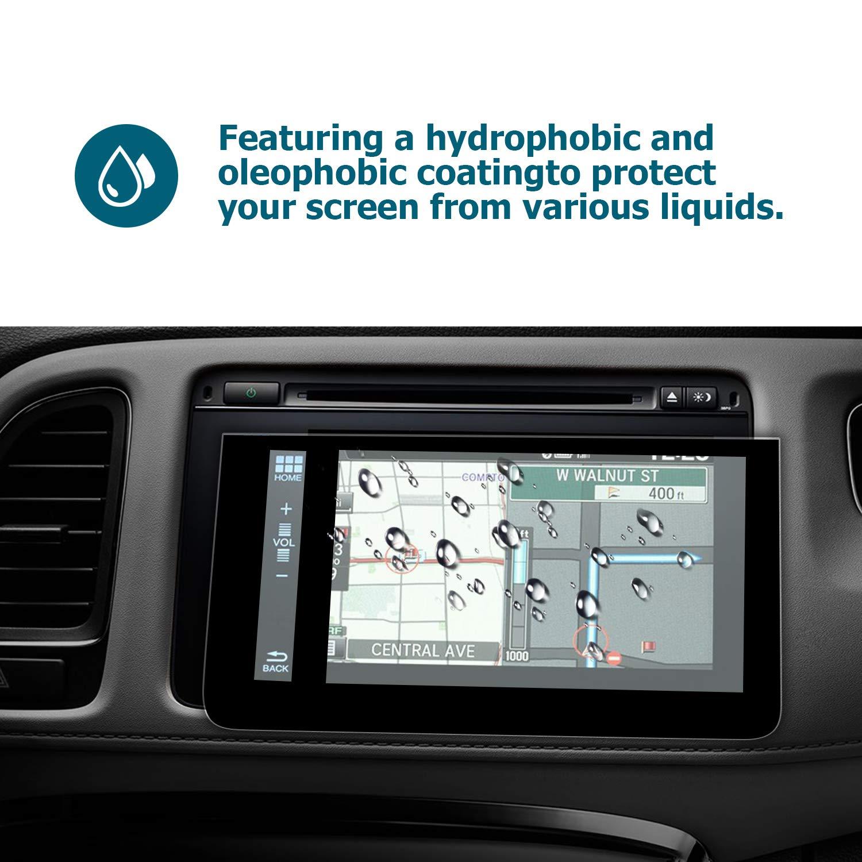senza bolle alta sensibilit/à alta definizione ultra sottile resistente ai graffi 9H pellicola in vetro temperato Honda HR-V EX EX YEE PIN Pellicola salvaschermo da 7 pollici