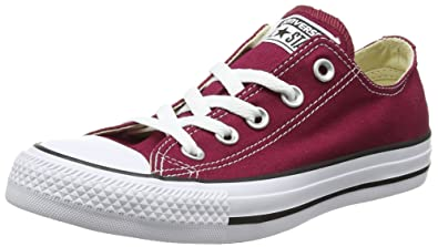 Converse All Star Ox Schuhe weinrot