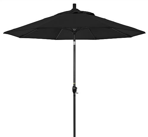 California Umbrella GSPT908302-5408 9' Round Aluminum Market