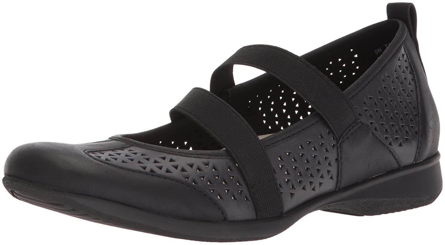 Trotters Women's Josie Mary Jane Flat B073C2PPSC 9.5 2W US|Black