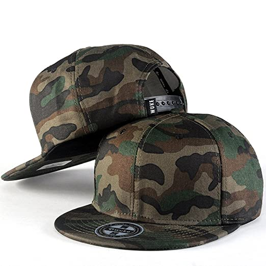 0a0a4ebbd6e Image Unavailable. Image not available for. Color  PLENTOP 2019 Men Women Baseball  Camouflage Cap ...