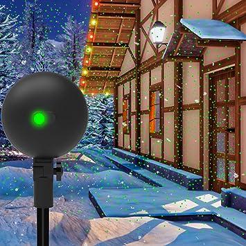 Amazon.com: Proyector de luces de Navidad con luz láser ...