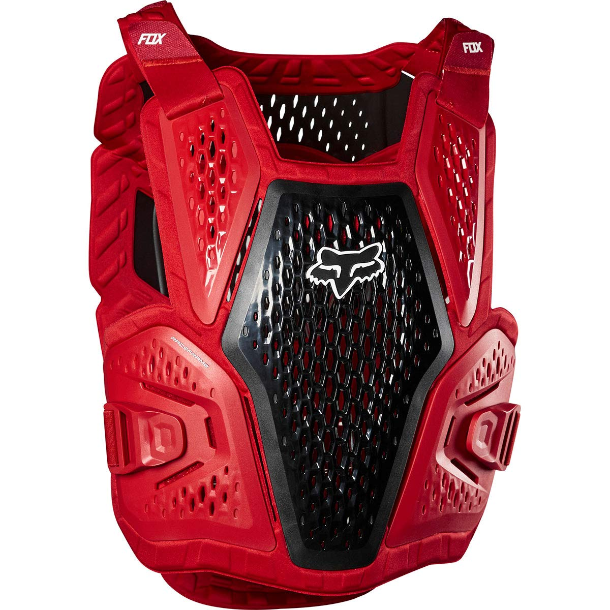 Fox Racing 2020 Youth Raceframe Roost Deflector (Flame RED)
