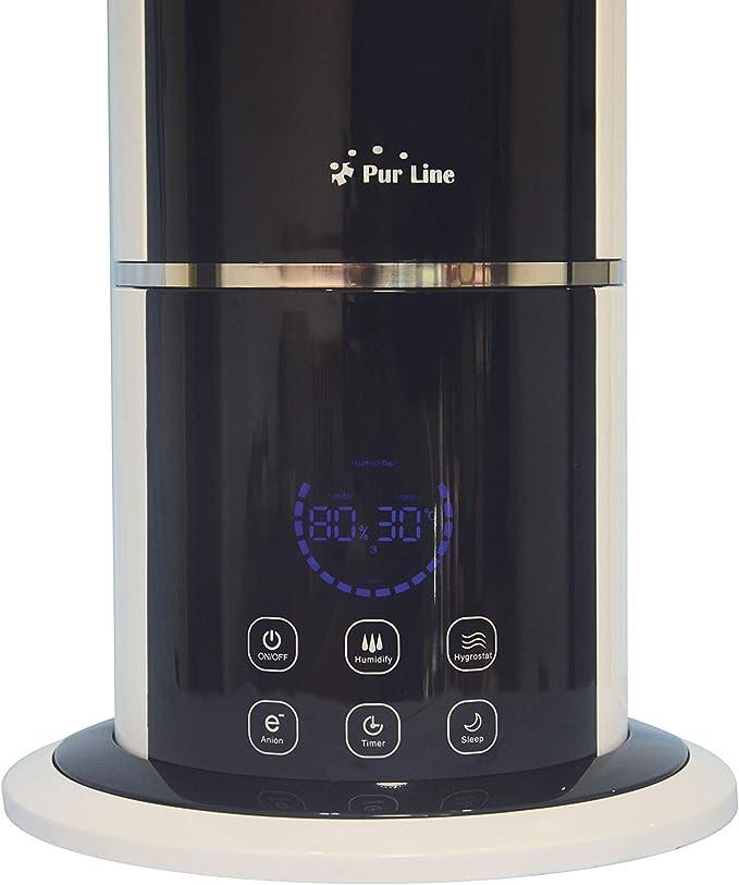 PURLINE Humidificador por ultrasonidos con ionizador y Mando Hydro 13: Amazon.es: Hogar