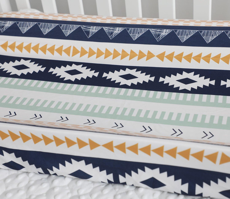 Sahaler Baby Boy Crib Bedding Aztec Changing Pad Cover Aztec