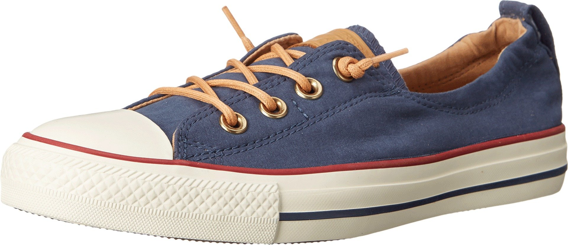 Converse Chuck Taylor All Star Shoreline Navy Red Lace-Up Sneaker - 6 B(M) US