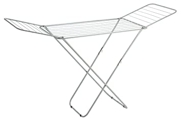 Amazon.com: Sunbeam Folding Laundry Drying Rack, Silver: Home & Kitchen