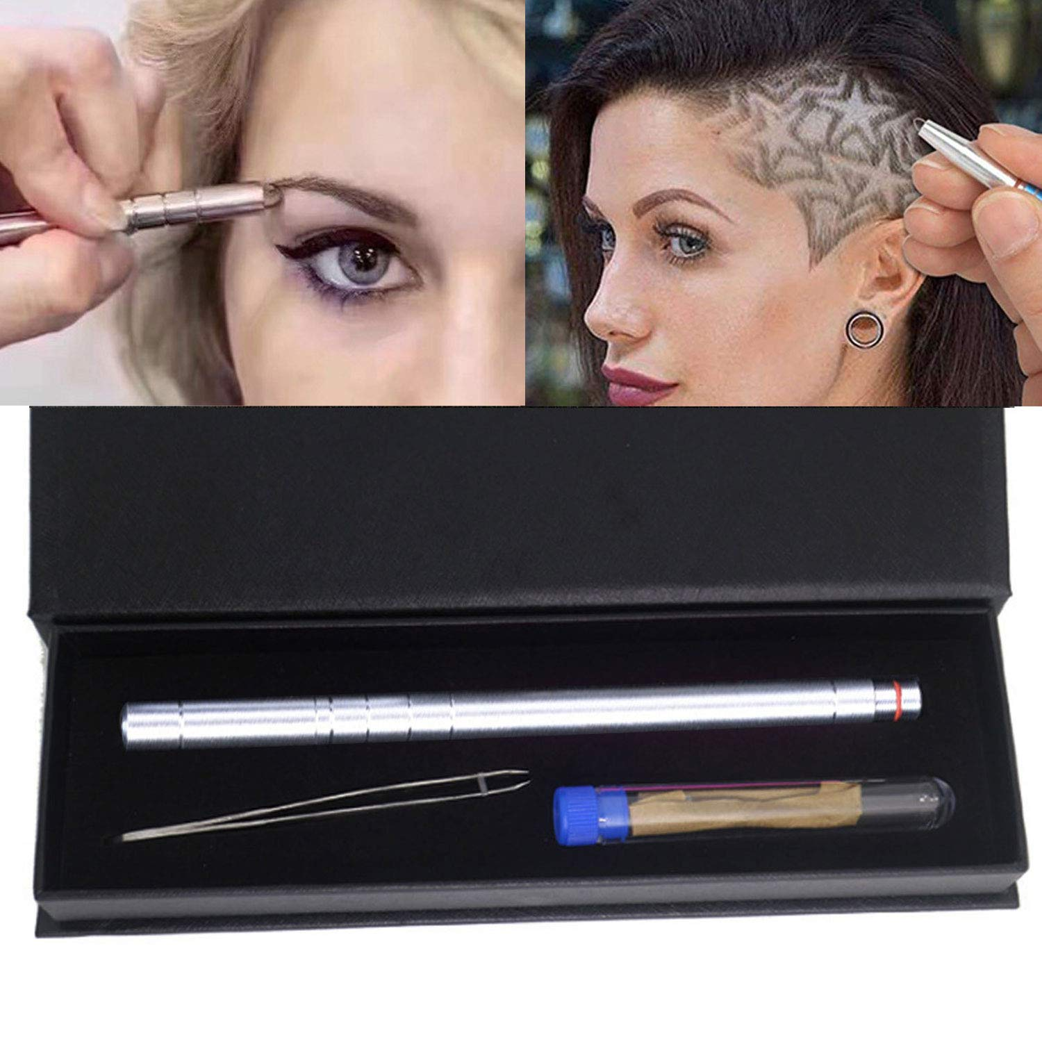 Amazon Hair Tattoo Trim Styling Face Eyebrow Shaping Device