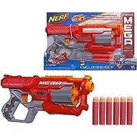 Lança Dardo Nerf Mega Cyclone Hasbro Vermelho