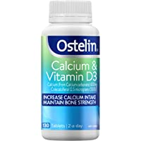 Ostelin Calcium and Vitamin D3 - Supports Bone Strength - Maintains Muscle Strength and Healthy Immune System, 130…