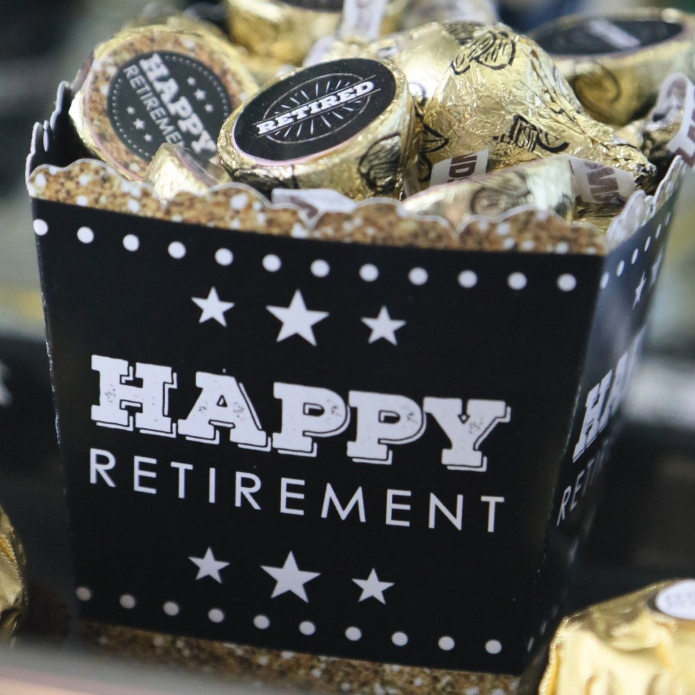 Big Dot of Happiness Happy Retirement - Party Mini Favor Boxes - Retirement Party Treat Candy Boxes - Set of 12 by Big Dot of Happiness (Image #6)