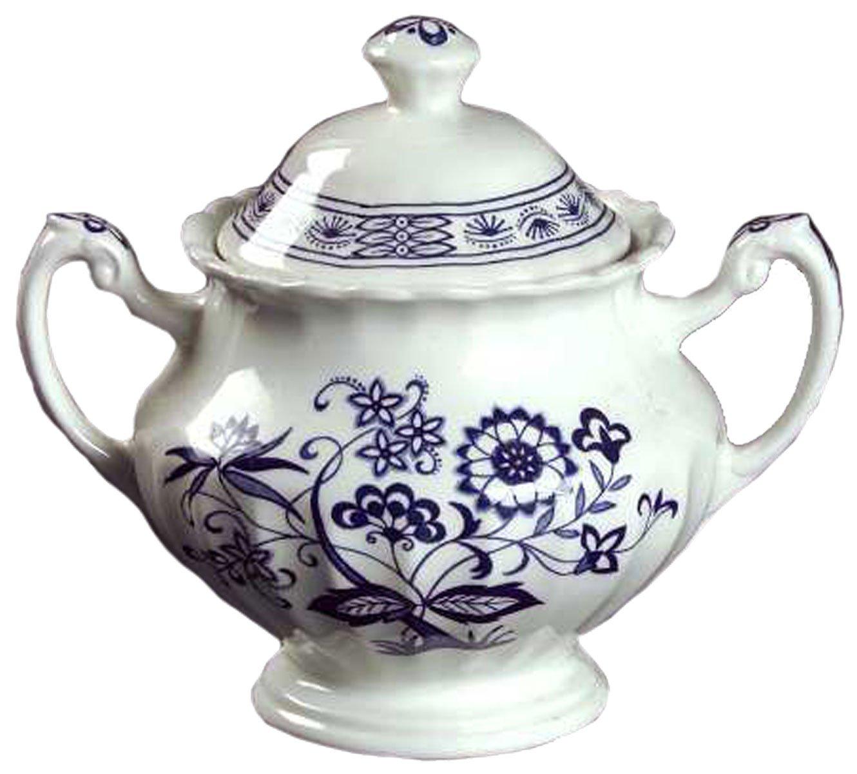 Johnson Bros/Meakin - Blue Nordic - Sugar Bowl